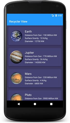 android cardview  recyclerview  droid   medium