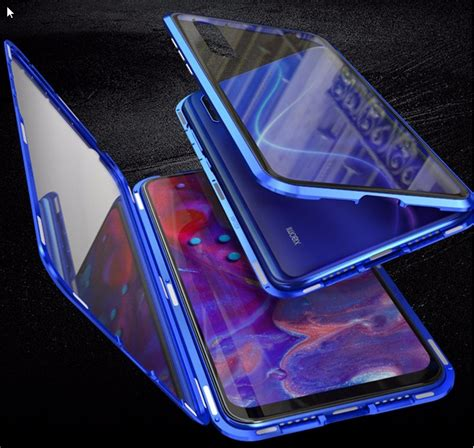 xiaomi mi  double sided magnetic case tempered glass