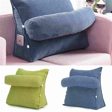 back pillow for bed adjustable bed sofa chair office rest neck support back 4242