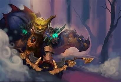 Goblin Hunter Warcraft Fantasy Artstation Camel Undead