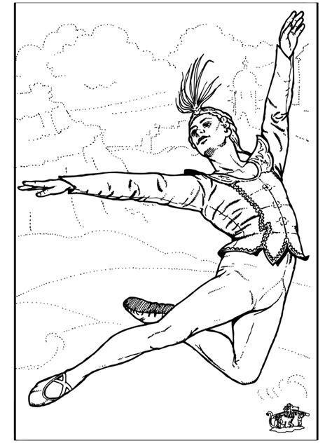 Ballet Kleurplaat by Ballet 8 Kleurplaat Ballet