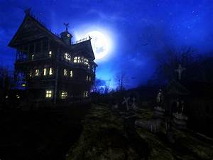 Haunted House ★ Wallpapers: Harvest Time Desktops / free ...