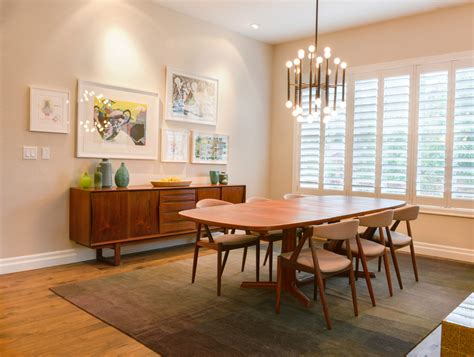 mid century modern rug dining room contemporary  area