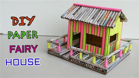 paper house newspaper crafts youtube