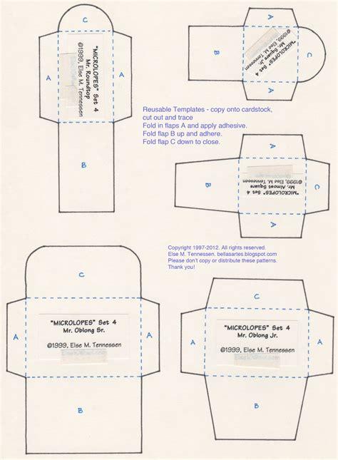 small envelope template else s bellas artes free mini envelope templates for you