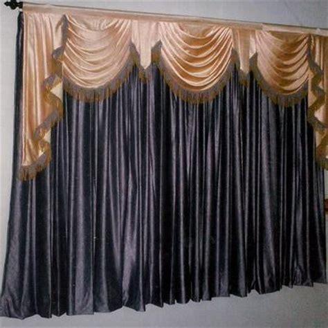 designer curtains silk scallop curtains wholesale