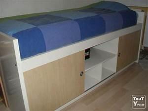 Lit Haut Ikea : lit ikea bangsund avec tag re int gr e mons 7000 ~ Teatrodelosmanantiales.com Idées de Décoration