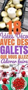 Cailloux De Decoration : 18 id es deco avec des galets que vous allez adorer faire ~ Melissatoandfro.com Idées de Décoration