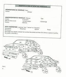 Expertise Véhicule : modele etat des lieux location vehicule document online ~ Gottalentnigeria.com Avis de Voitures