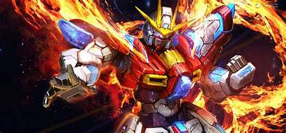 Gundam Build Fighters Try Fire Mobile Suit