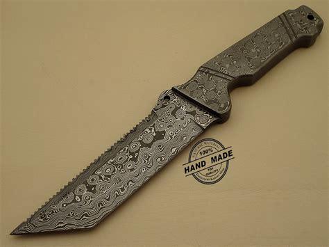 kitchen knives damascus tracker knife custom handmade damascus steel