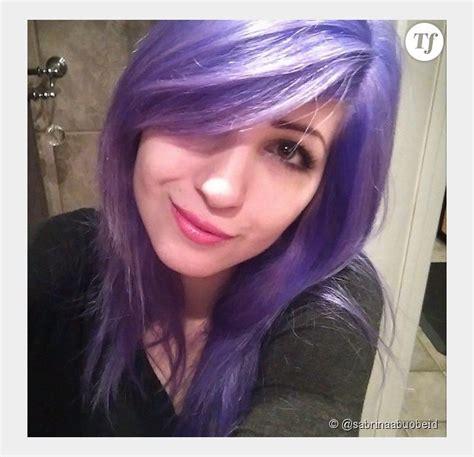 cuisine de sabrina bleus roses ou violets les cheveux de cette fille font