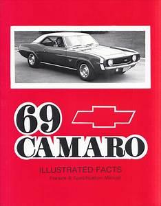 1969 Camaro  U0026 Rs  Ss  Z28 Factory Assembly Manual Reprint