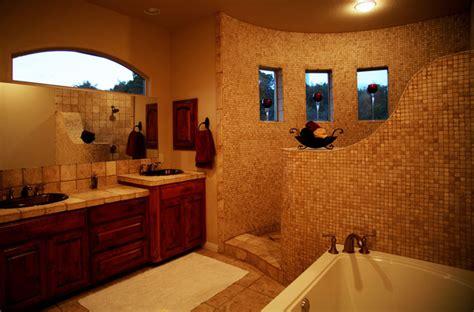 master bath shower mediterranean bathroom austin