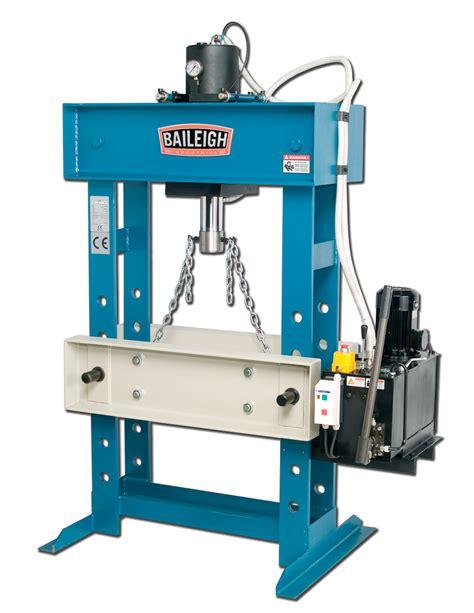 presse hydraulique d atelier motorisees