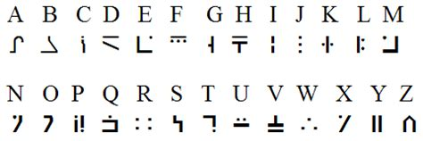 standard galactic alphabet wikipedia