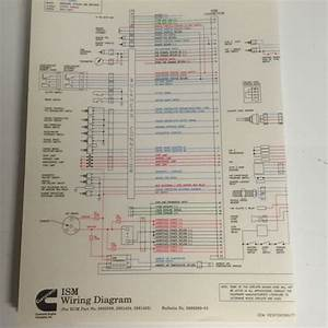Cummins Ism Wire Diagram 3666269