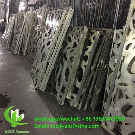 hollow mm decorative perforated aluminum sheet metal