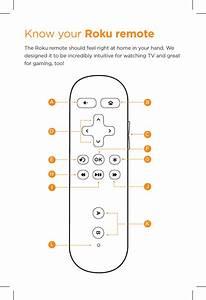 Rc03 Rf Remote Control User Manual Quick Start Guide Roku