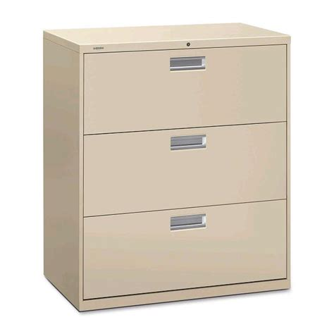 Three Drawer Filing Cabinet Dimensions by Hon Brigade 600 Series Lateral File Cabinet 3 Drawer 36