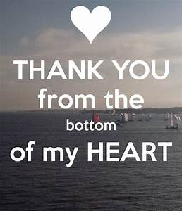 THANK YOU from the bottom of my HEART Poster | shana ...
