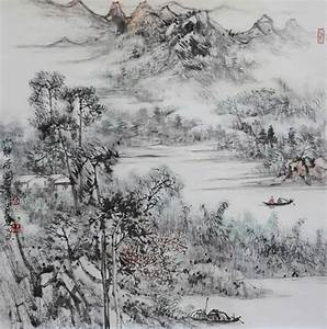 Original Traditional Chinese painting Asian Chinese ...