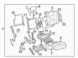 Gmc Sierra 1500 Spring  Seat  Support   Lower   Bench