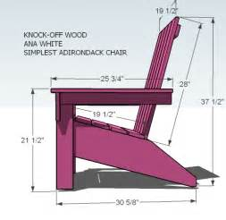 white s adirondack chair diy projects