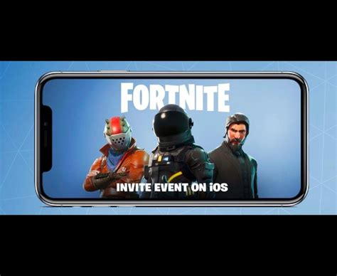 fortnite android mobile sign up play release date news and how to daily