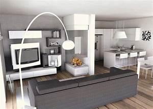Come arredare una cucina soggiorno for Arredare cucina e soggiorno
