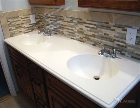 Bathroom-double Sink With Backsplash-contemporary