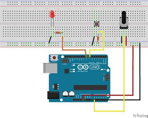 Arduino Switch by Tutorial Arduino Controllo Led Con Switch E Potenziometro