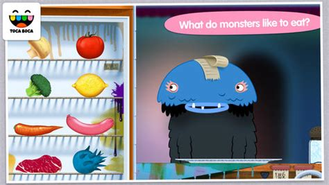 toca boca kitchen toca kitchen monsters on the app on itunes