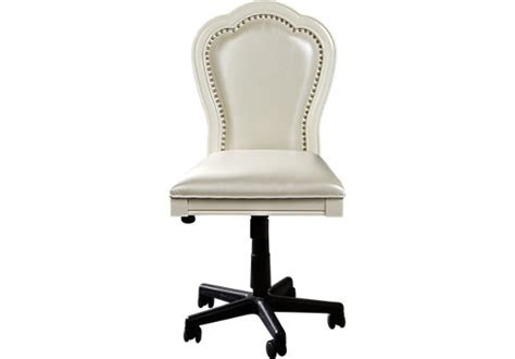 girls white desk chair kayla white desk chair