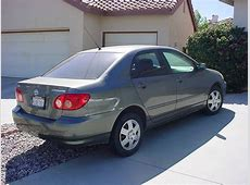 2005 Toyota Corolla Private Car Sale in Moreno Valley