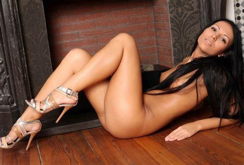 Wallpaper Sexy Hot Brunette Nude Beautiful Female Legs