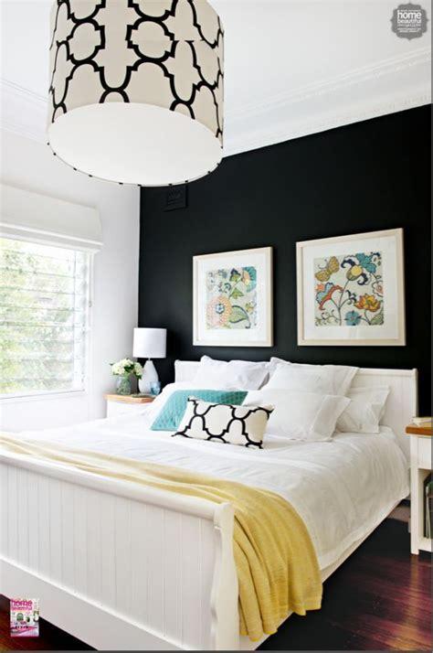 bedroom  full  modern twists  dark walls