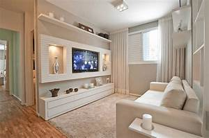 How to decorate a wall behind tv creatively