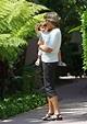 Isabella Damon Photos Photos - The Damon Family in LA - Zimbio