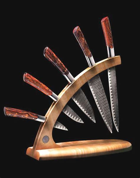 william henry kitchen knives william henry cool knife display rack make build this pinterest knives and display