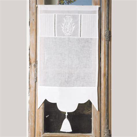 rideaux originaux pour cuisine brise bise brise bise glaïeul blanc