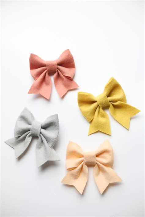 felt bow template felt bow free pattern and tutorial
