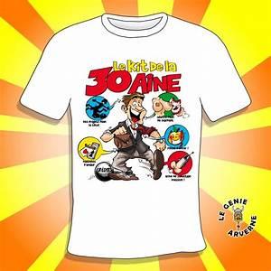 T Shirt 30 Ans : t shirt homme kit 30 aine ~ Voncanada.com Idées de Décoration