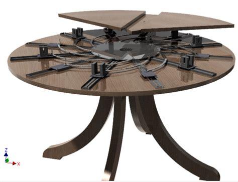expanding round table plans fletcher capstan table plans brokeasshome com