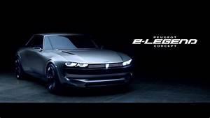 Peugeot E Concept : peugeot e legend concept car vid o officielle 2018 ~ Melissatoandfro.com Idées de Décoration