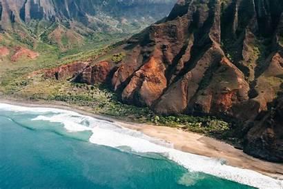 Kalalau Beach Pali Coast Kauai Na Trail