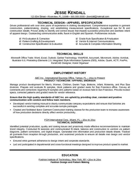Freelance Fashion Designer Resumes by Fashion Designer Resume Haadyaooverbayresort