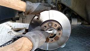 Install Front Brake Discs And Pads  Opel Vauxhall Vectra C