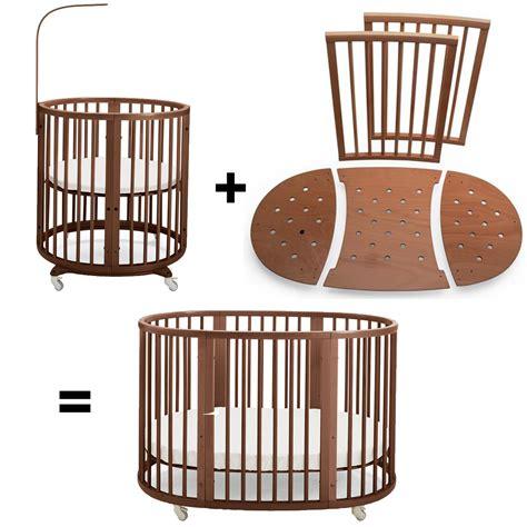 stokke sleepi mini to crib bed extensions walnut