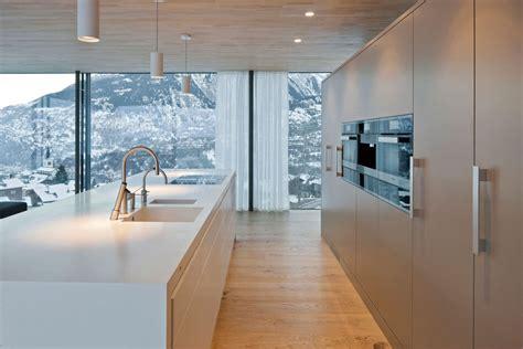 cuisine blanc laque avec ilot ilot cuisine blanc laqué